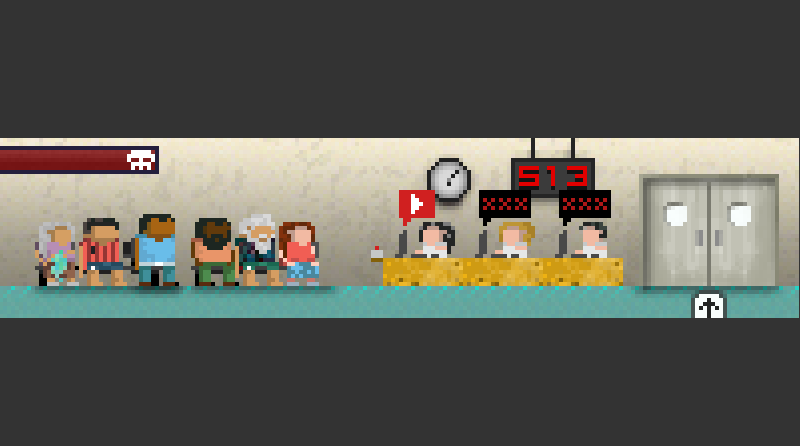 Foto do jogo funcionando